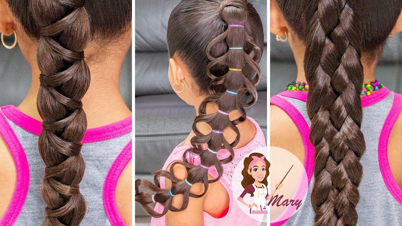 Acogedor peinados para clases Fotos de cortes de pelo Consejos - 3 peinados fáciles de regreso a la escuela para cabello ...